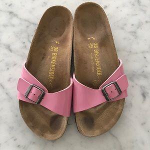 Pink Birkenstock Sandals size 38